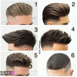 مو مردانه فشن