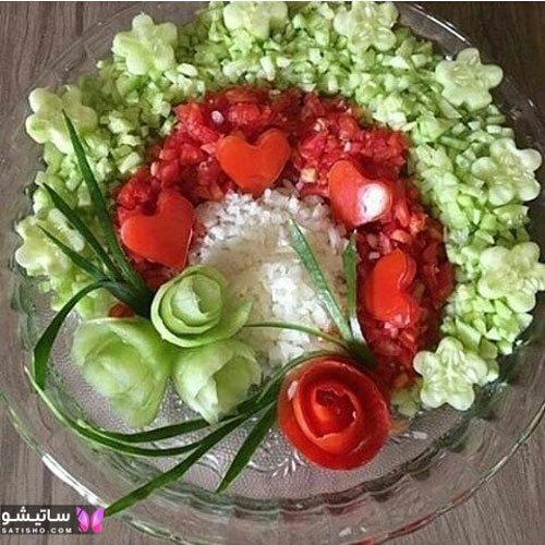باکلاس تزیین غذای ایرانی