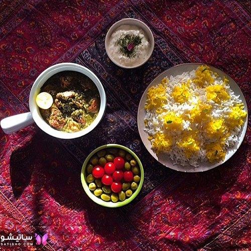 عکس سفره آرایی و تـزیین غذا