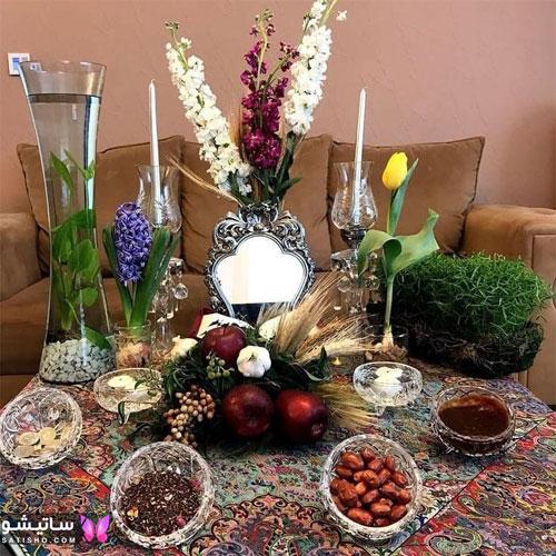 شکل جالب سفره هفت سین برای عید