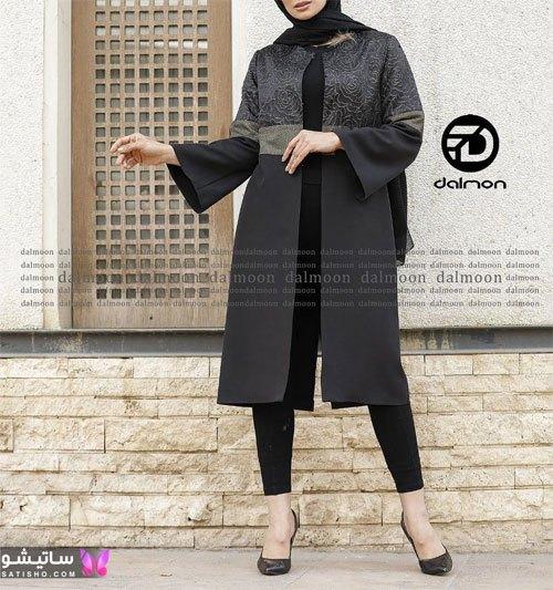 جدیدترین مدلهای مانتوی مشکی سیاه زنانه