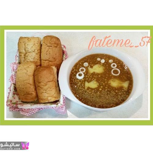 تصاویری جدید از تزیین عدسی برای صبحانه