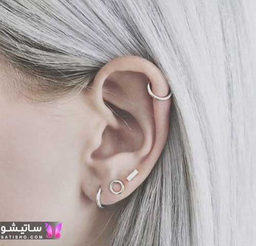 مدل گوشواره های جدید و شیک دخترانه