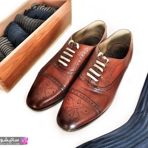 مدل کفش پسرانه مجلسی مد