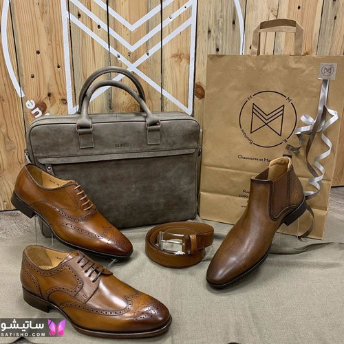 مدلهای کفش چرم مردانه شیک