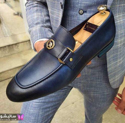 نمونه کفش اسپرت مشکی مردانه