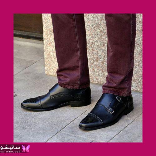 مدل کفش های مجلسی مردانه مشکی