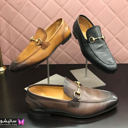 انواع کفش های مجلسی و کالج مردانه 2021 جدید