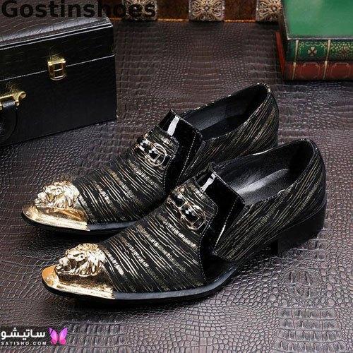 تصاویر کفش مجلسی مردانه براق