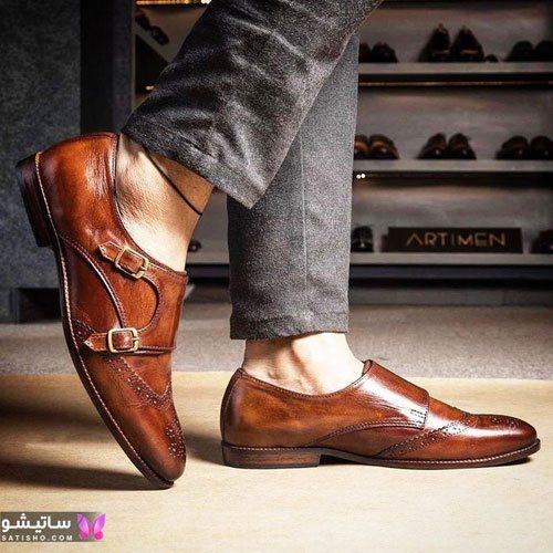 kafsh mardane 2020 satisho 235 - تصاویری از مدل های کفش مردانه جدید 2021