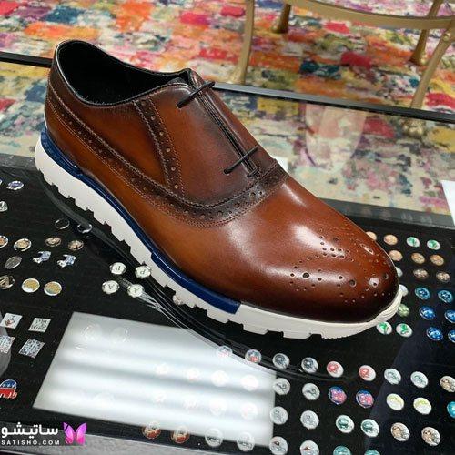 کفش چرم مردانه زیبا