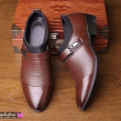 جدیدترین مدل کفش چرم مردانه 1400