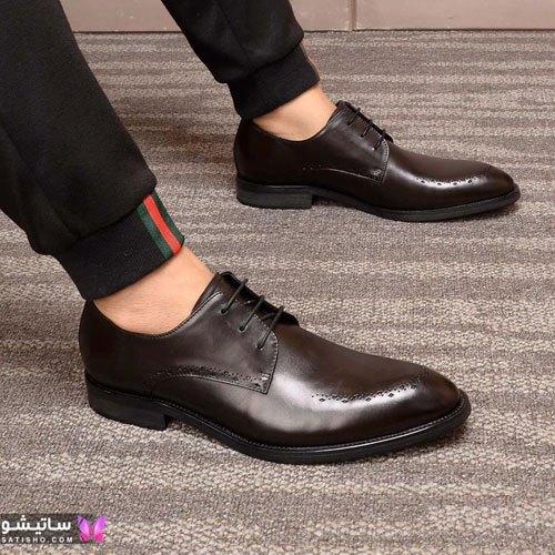 مدل کفش مجلسی مردانه براق