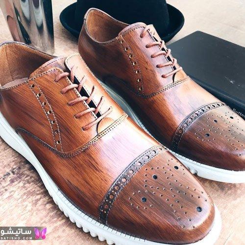 مدهای جدید کفش مردانه چرم مشهد