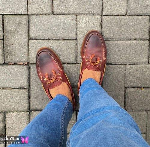 مدل کفشهای چرم مردانه جدید و شیک