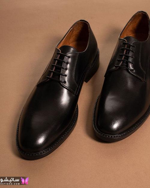 مدل کفش رسمی و اداری مردانه جنس چرم