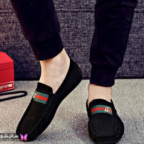 مدل کفش چرمی مردانه کالج