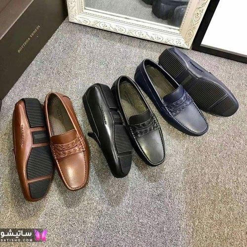 نمونه کفش های چرم رسمی و مجلسی مردانه