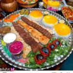 تزیین کباب مجلسی