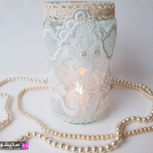 مدل تزیین شمع تولد