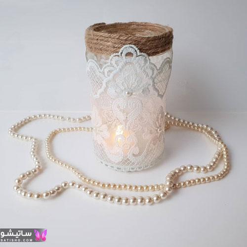 مدل تزیین شمع