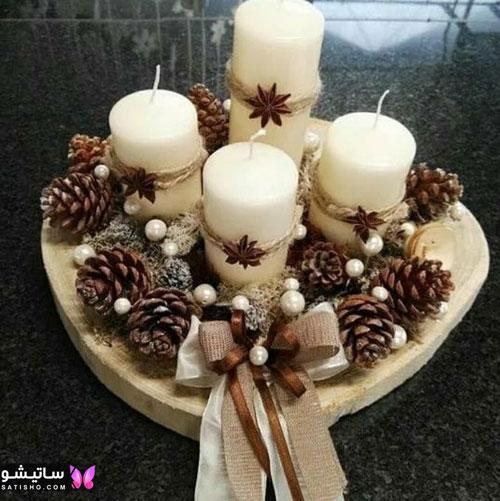 عکس تزیین شمع برای تولد