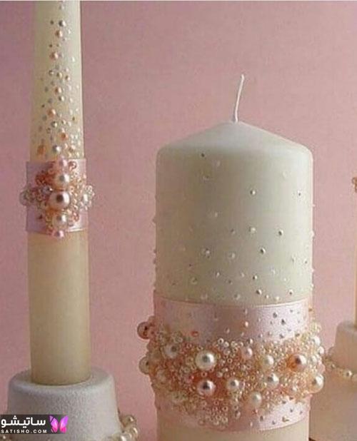 ایده تزیین شمع تولد