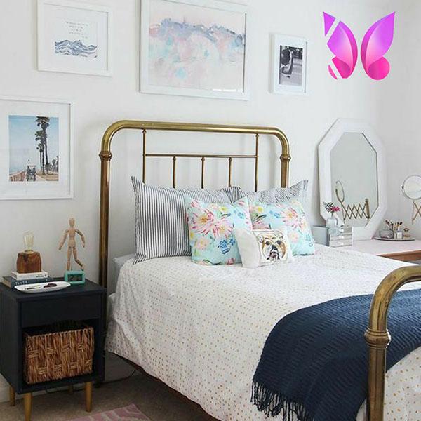 طراحی اتاق پسرانه ساده و شیک