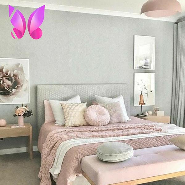 طراحی اتاق خواب نوجوان دخترانه ملیح و زیبا