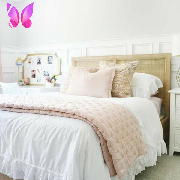 طراحی اتاق خواب دخترانه شیک