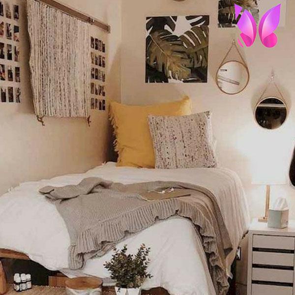 طراحی دکوراسیون اتاق خواب نوجوان پسرانه