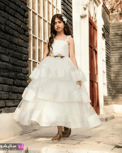 لباس محفلی طفلانه دخترانه
