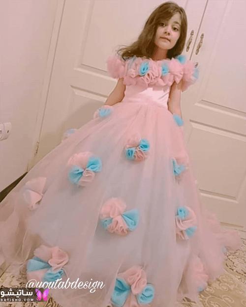 مدل لباس بچه گانه ساتن