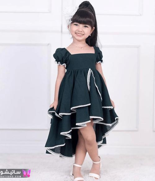 مدل دوخت لباس دخترانه جدید
