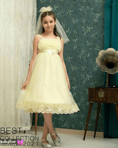 لباس مجلسی دخترانه دوساله