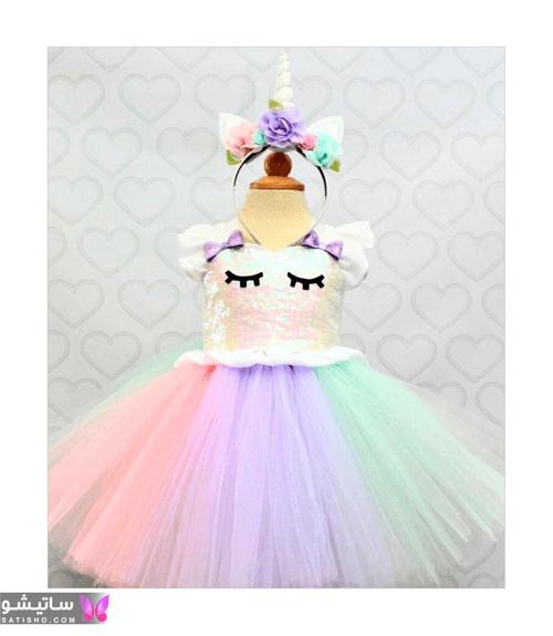 عکس لباس کودکانه مجلسی