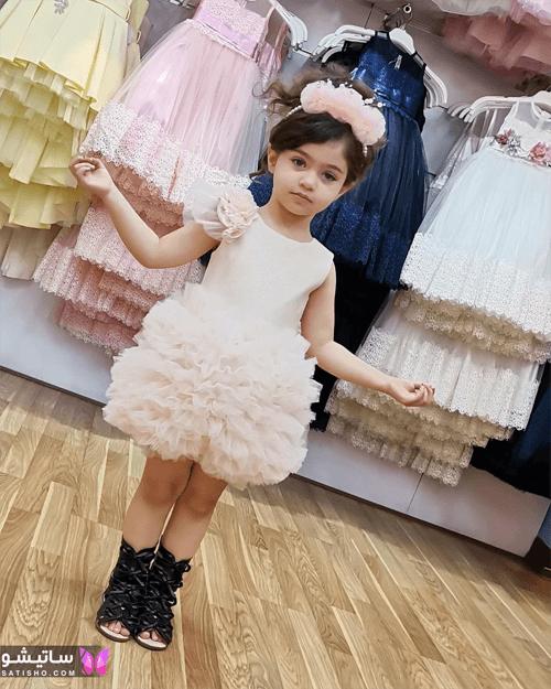 مدل لباس مجلسی دخترانه کودک