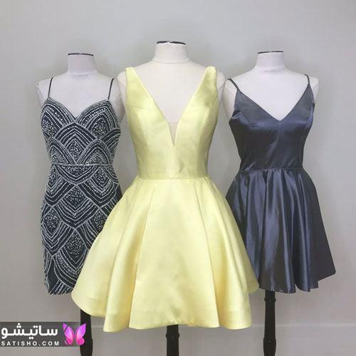 لباس مجلسی دخترانه رنگ سال