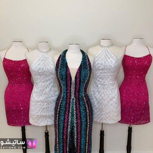 انواع مدل های لباس مجلسی کوتاه و بلند