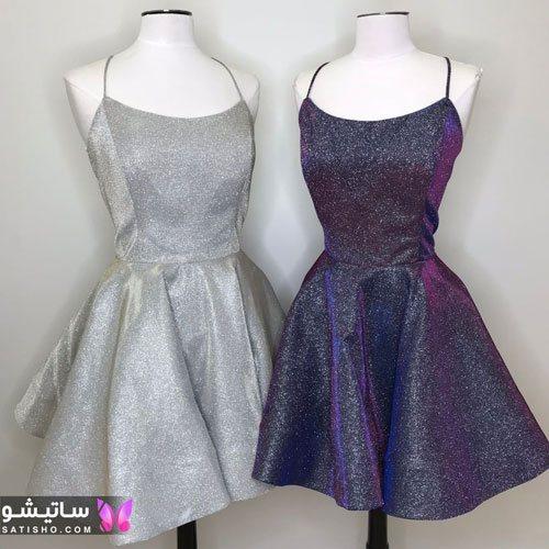 شیک ترین مدل لباس مجلسی دخترانه 2021 کوتاه
