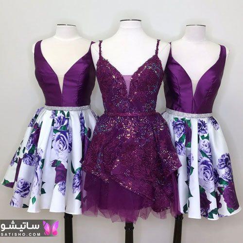 مدل لباس مجلسی دخترانه کوتاه 2021