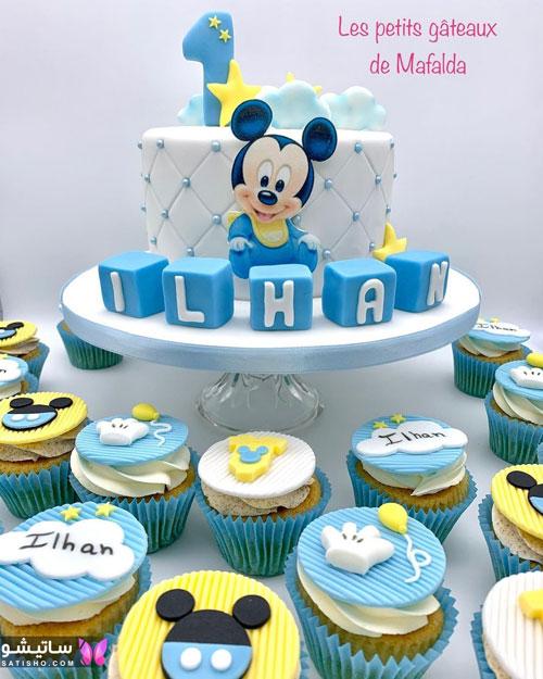 کیک تولد پـسرانه بسیار زیبا