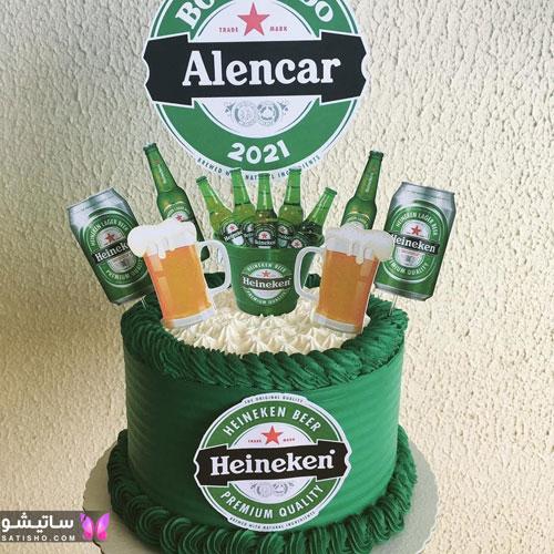 عکس کیک تولد پـسرانه بزرگسال