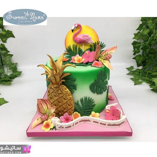 کیک تولد پـسرانه نوجوان