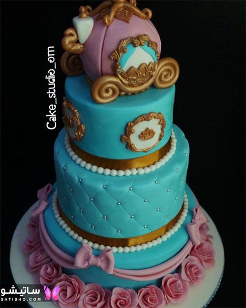 عکس کیک تولد پـسرانه نوجوان