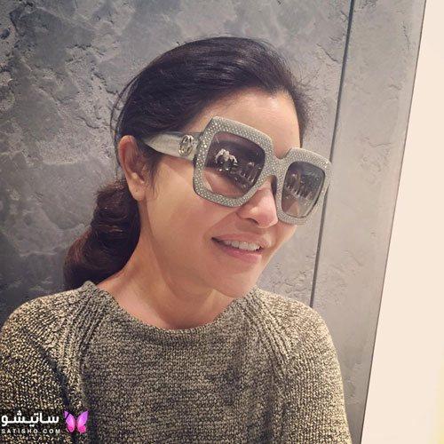 مدل عینک آفتابی مربع زنانه