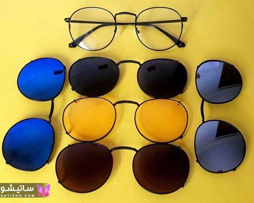 نمونه عینک های آفتابی ارزان قیمت