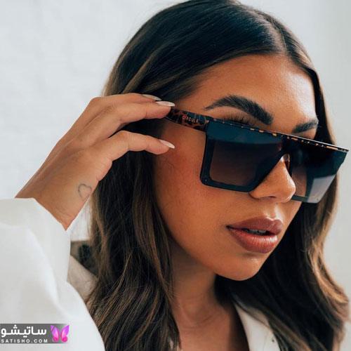 عینک آفتابی شیک و لاکچری زنانه 1400