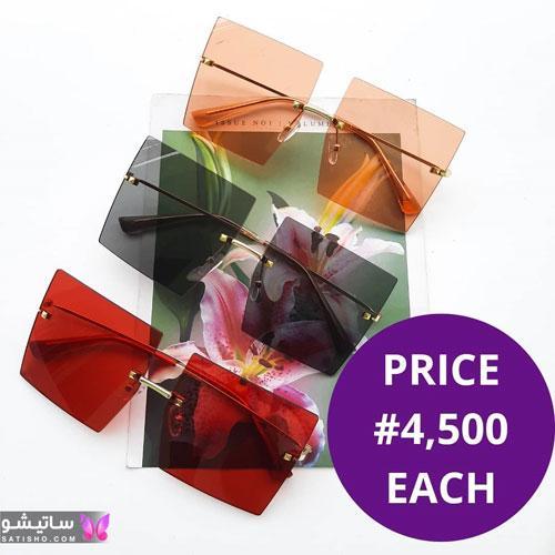 مدل های عینک آفتابی رنگی دخترانه 1400