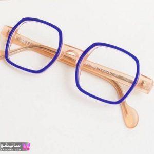 مدل عینک طبی برای صورت گرد